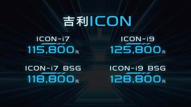 """""""百毒不侵"""" 售价11.58-12.88万 吉利ICON全球上市"""