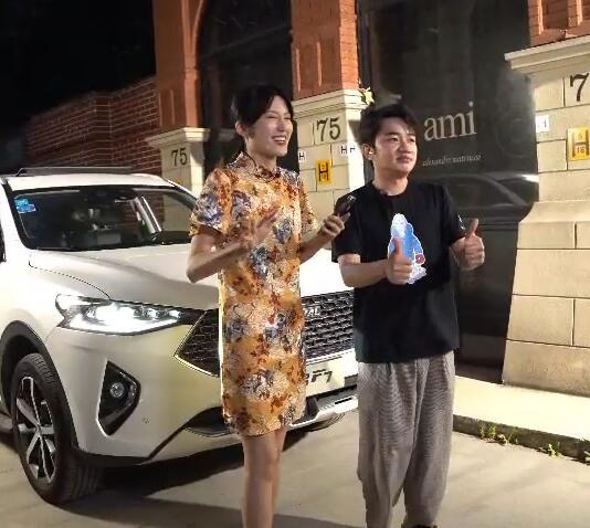 """""""最强大脑""""驾到 哈弗F7携手王祖蓝登陆明星直播季"""