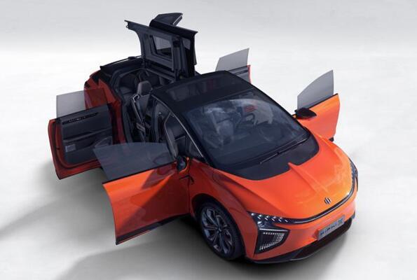 全球首款可进化超跑SUV!高合HiPhi X将上市:3.9s破百 能跑610km